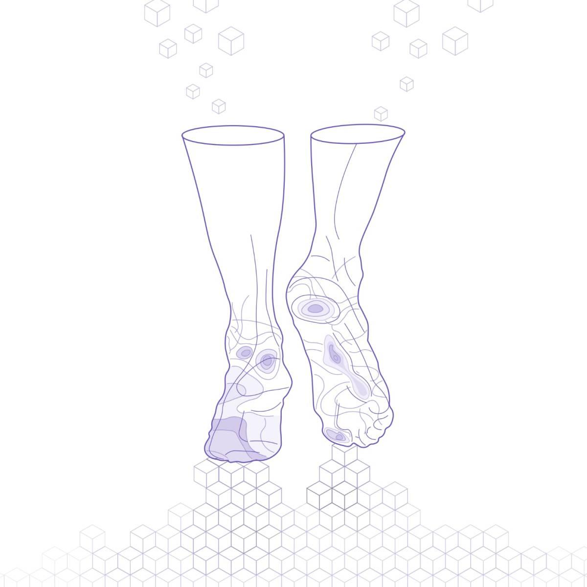 Siren Diabetic Socks